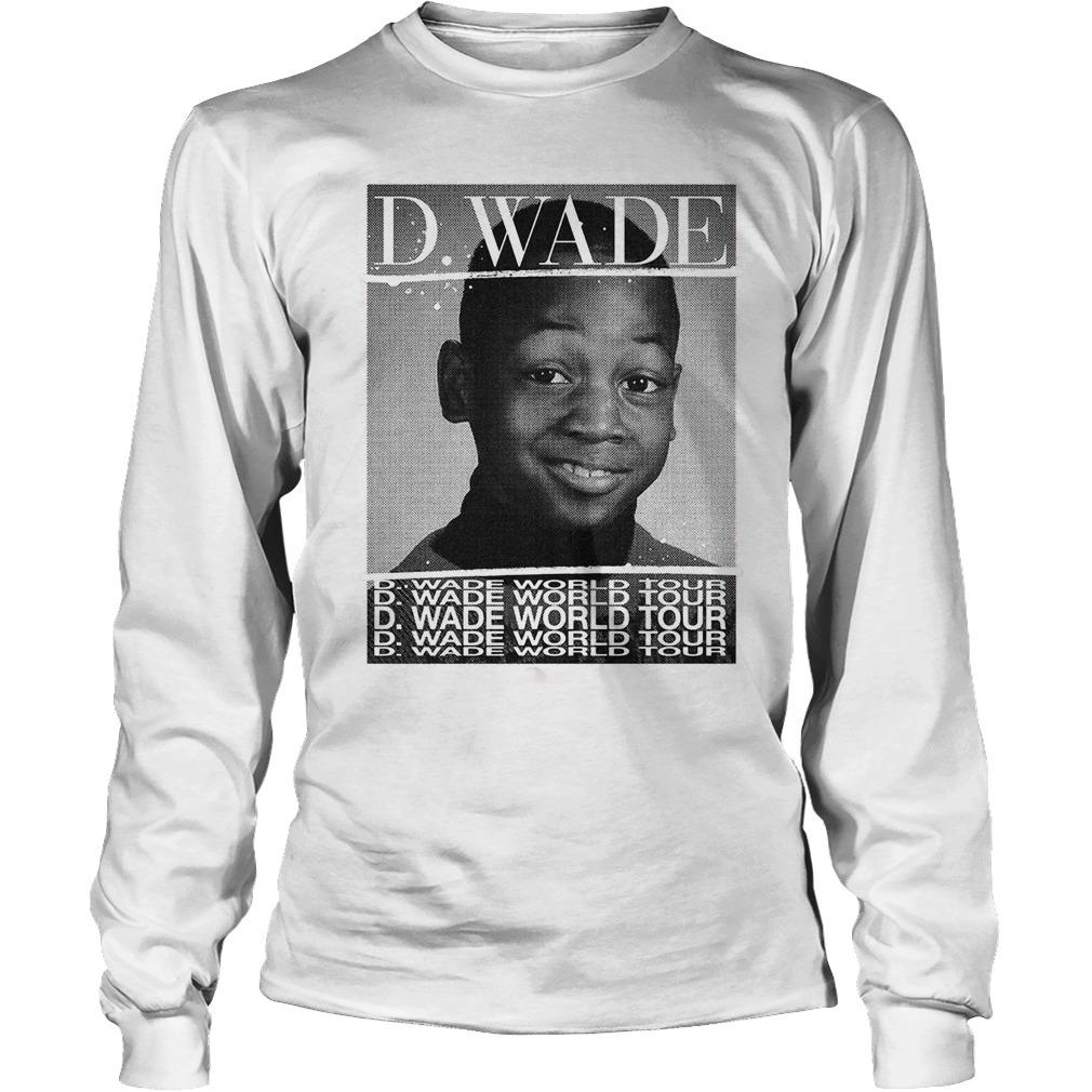 D Wade World Tour Longsleeve Tee