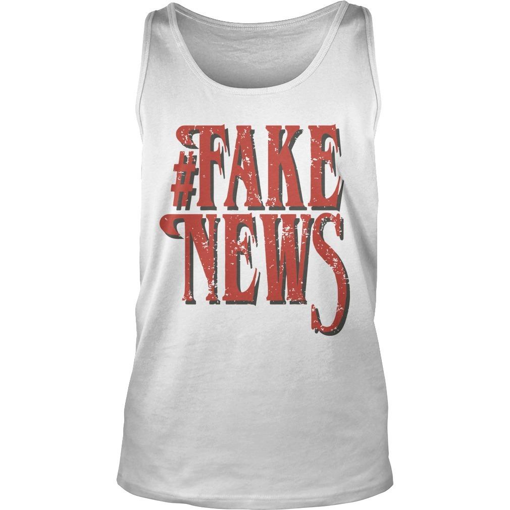 Dana Loesch #fake News Tank Top
