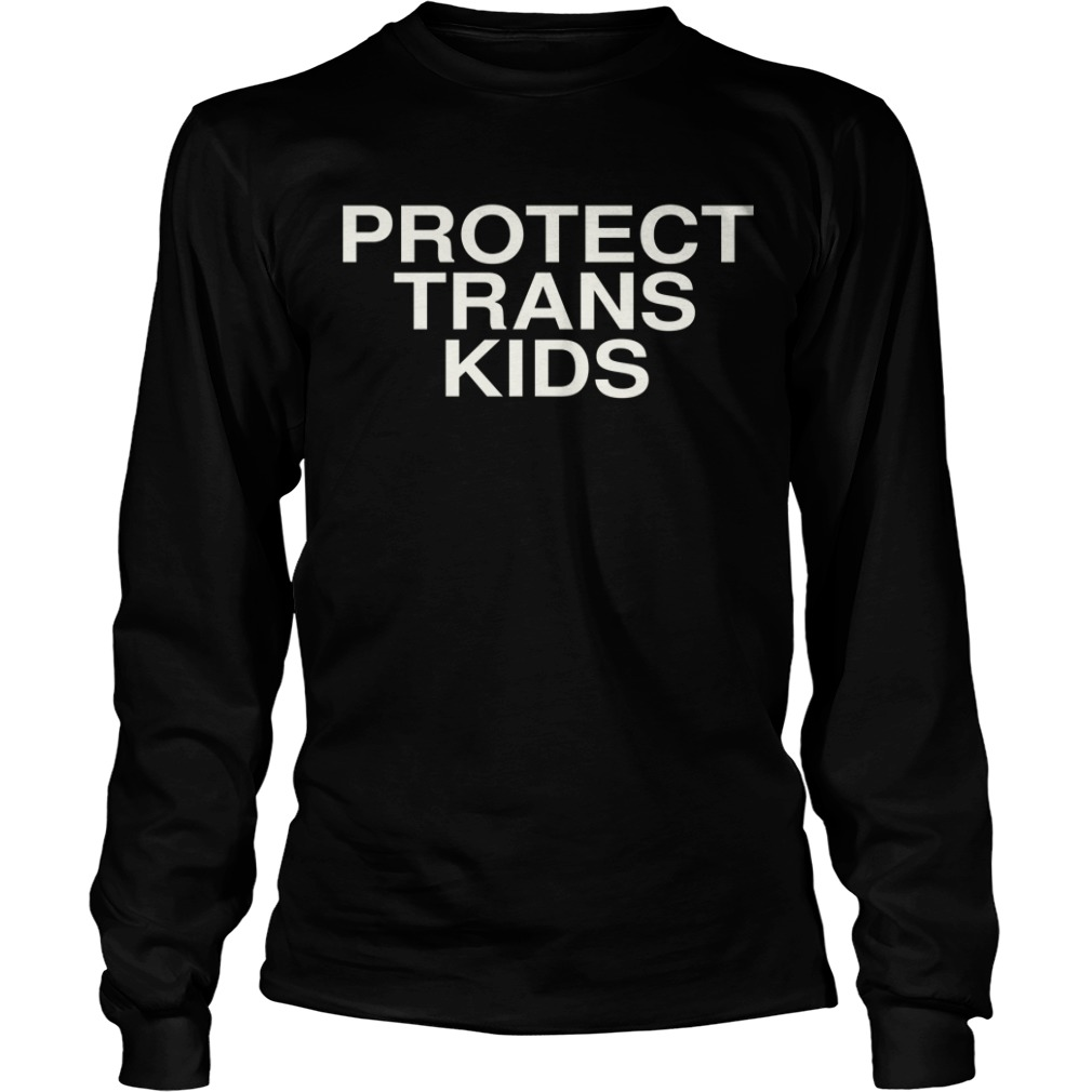Don Cheadle Protect Trans Kids Longsleeve Tee