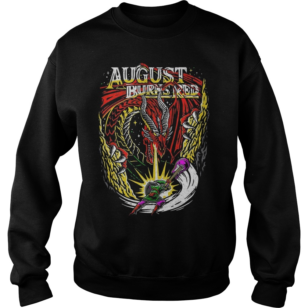 Dragon August Burns Red Sweater