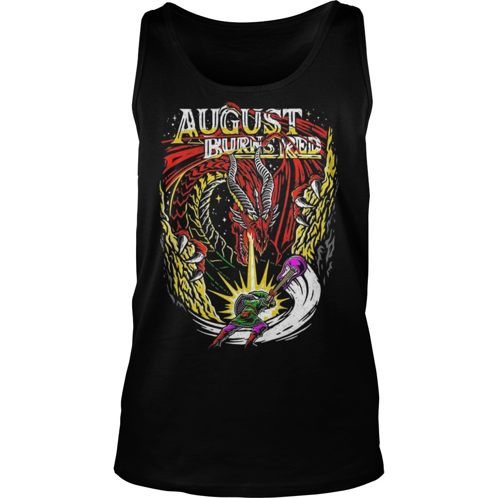 Dragon August Burns Red Tank Top
