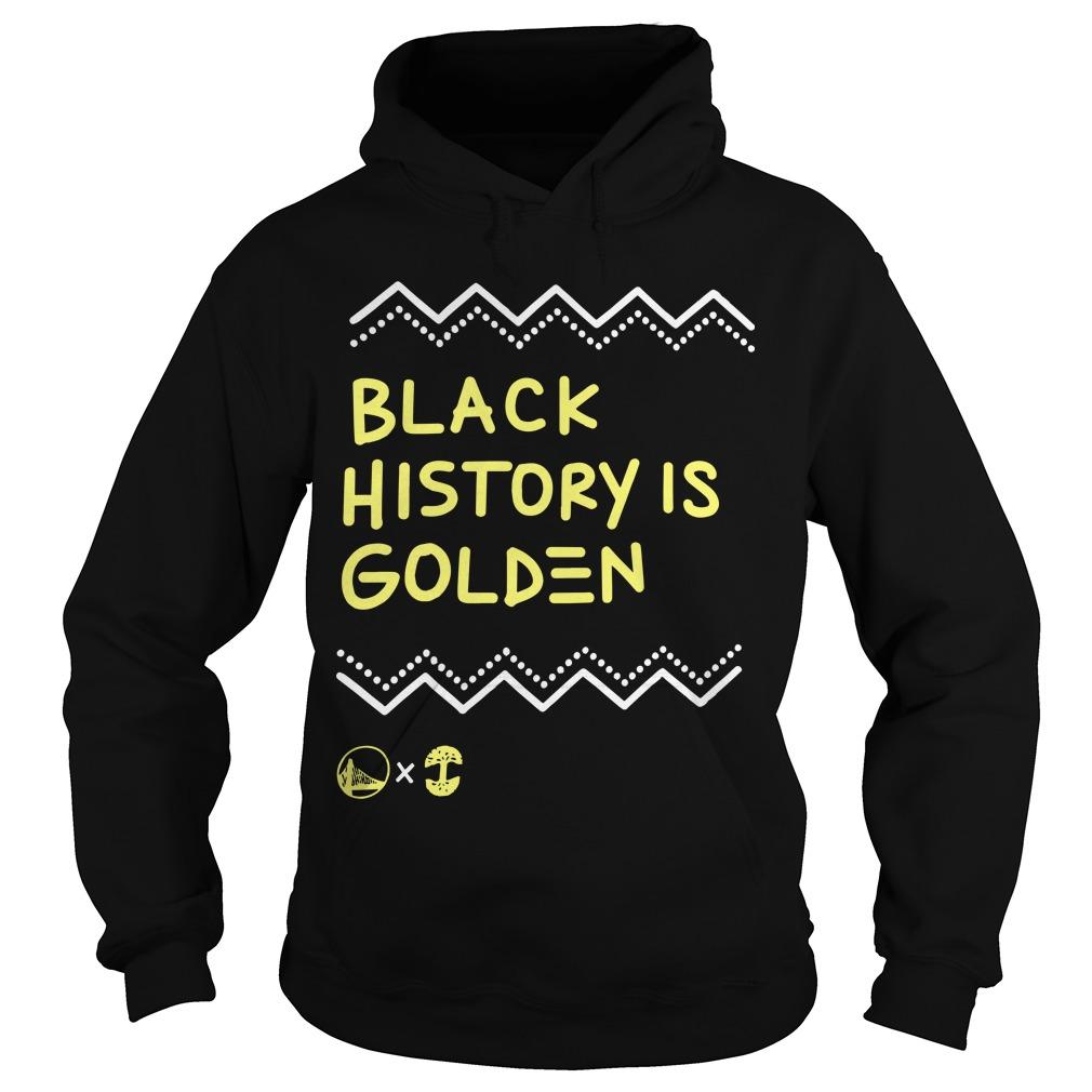 Golden State Warriors Black History Is Golden Hoodie