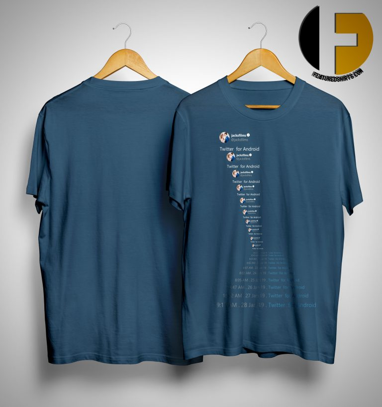 Jacksfilms Twitter For Android Shirt
