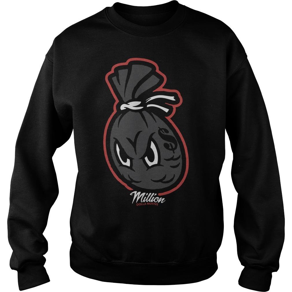 Jordan 6 Infrared Million Dolla Motive Money Bag Sweater
