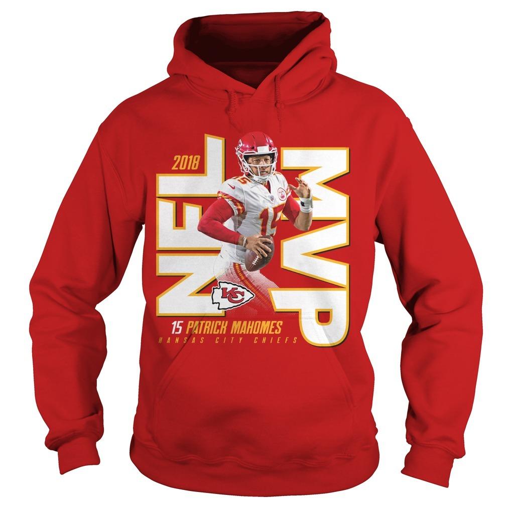 Kansas City Chiefs Patrick Mahomes 2018 NFL MVP Hoodie