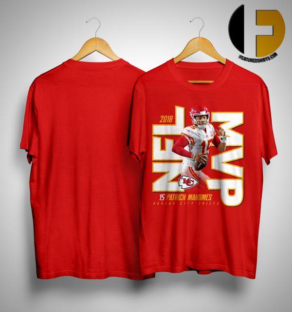 Kansas City Chiefs Patrick Mahomes 2018 NFL MVP Shirt