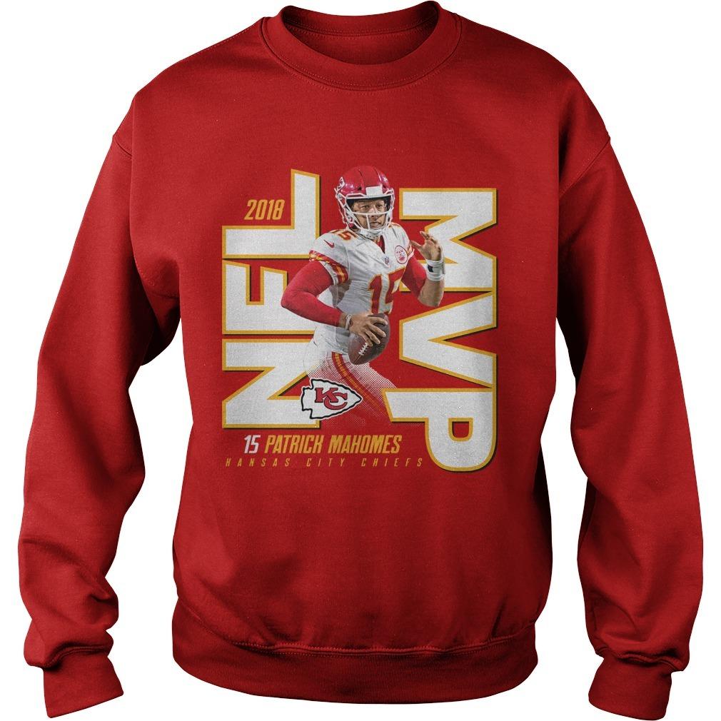 Kansas City Chiefs Patrick Mahomes 2018 NFL MVP Sweater
