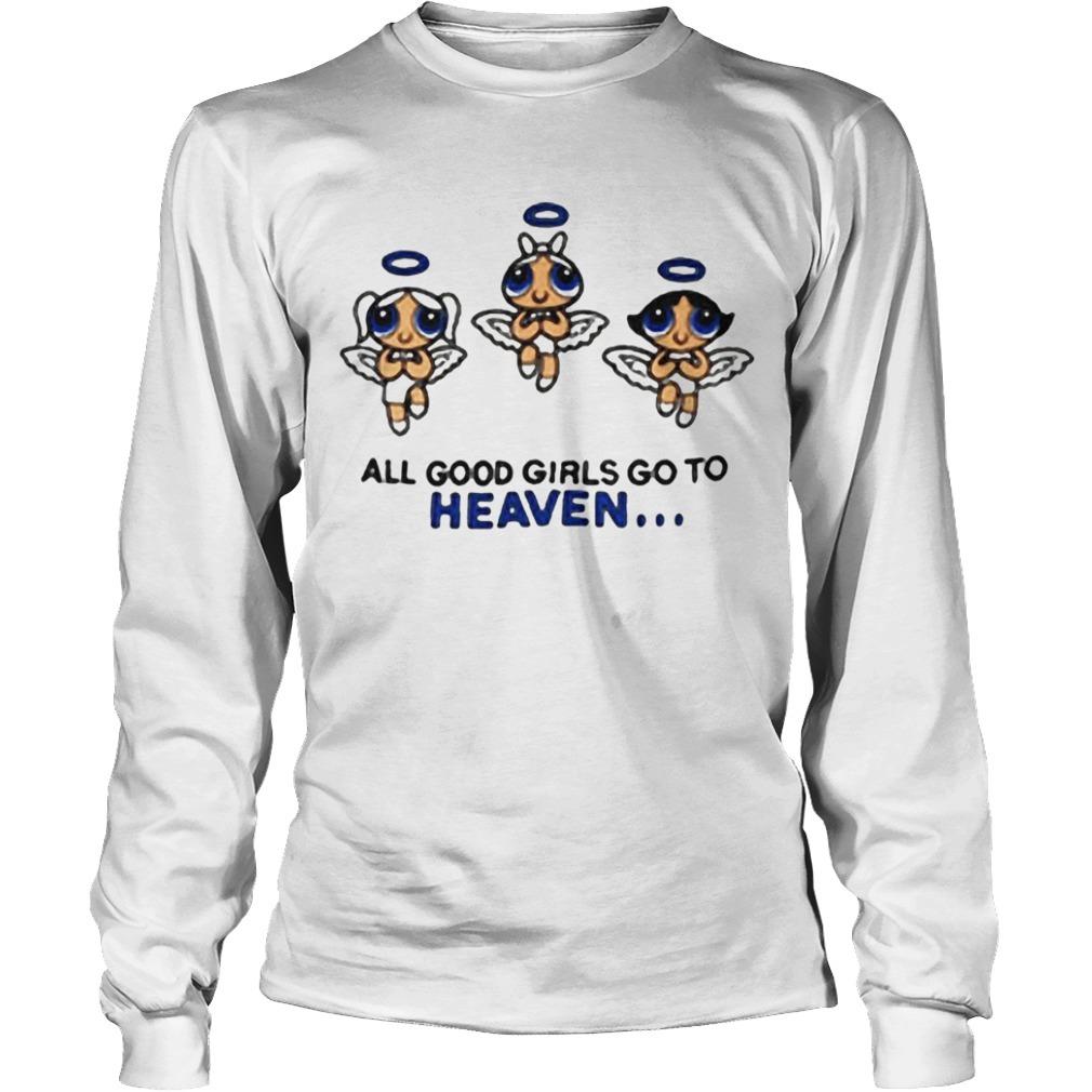 Kat Powerpuff Girls All Good Girls Go To Heaven Longsleeve Tee
