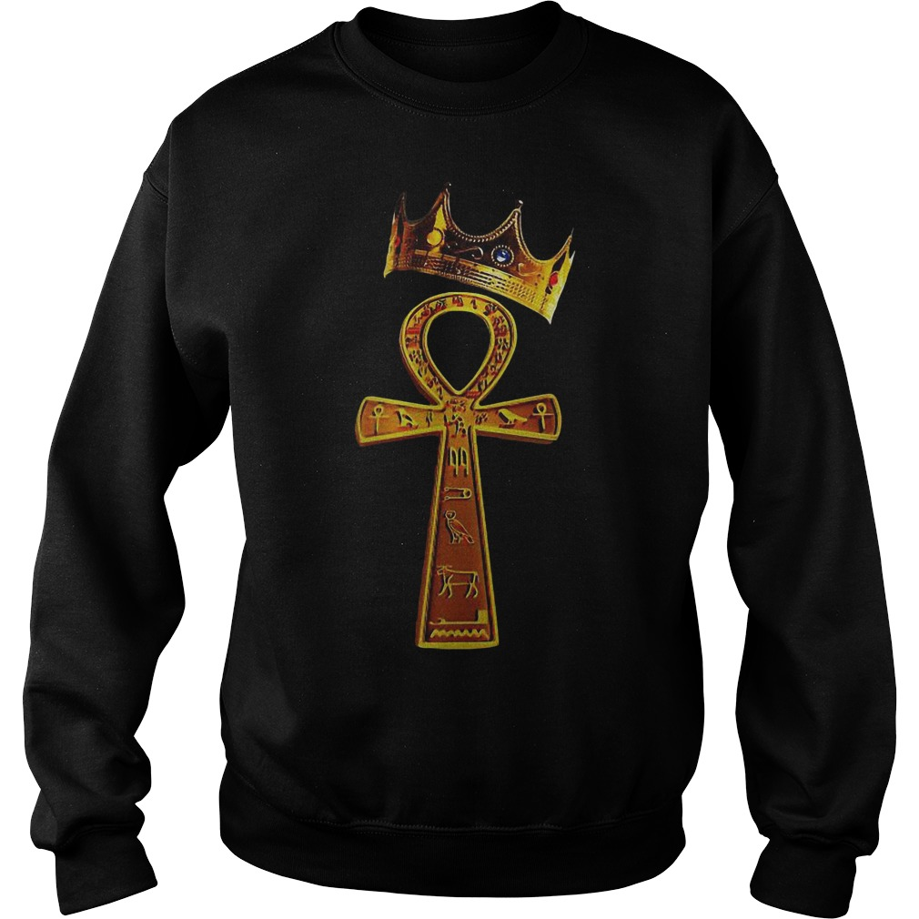 King Ankh Crowned Ankh Original Sweater