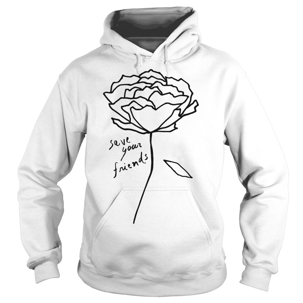 Krost New York Rose Save Your Friends Hoodie