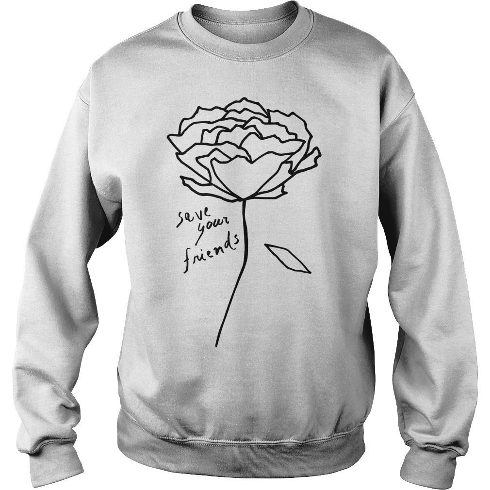 Krost New York Rose Save Your Friends Sweater