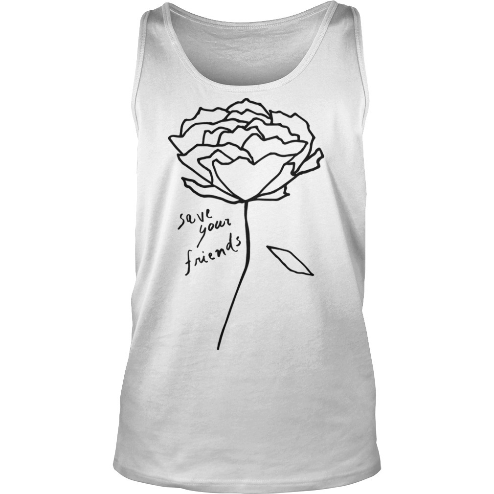 Krost New York Rose Save Your Friends Tank Top