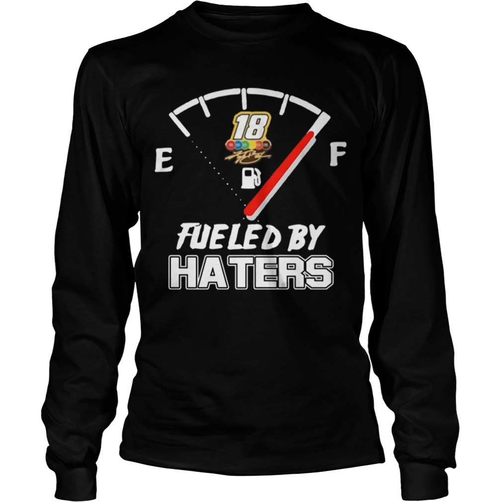 Kyle Busch Fueled By Haters Longsleeve Tee