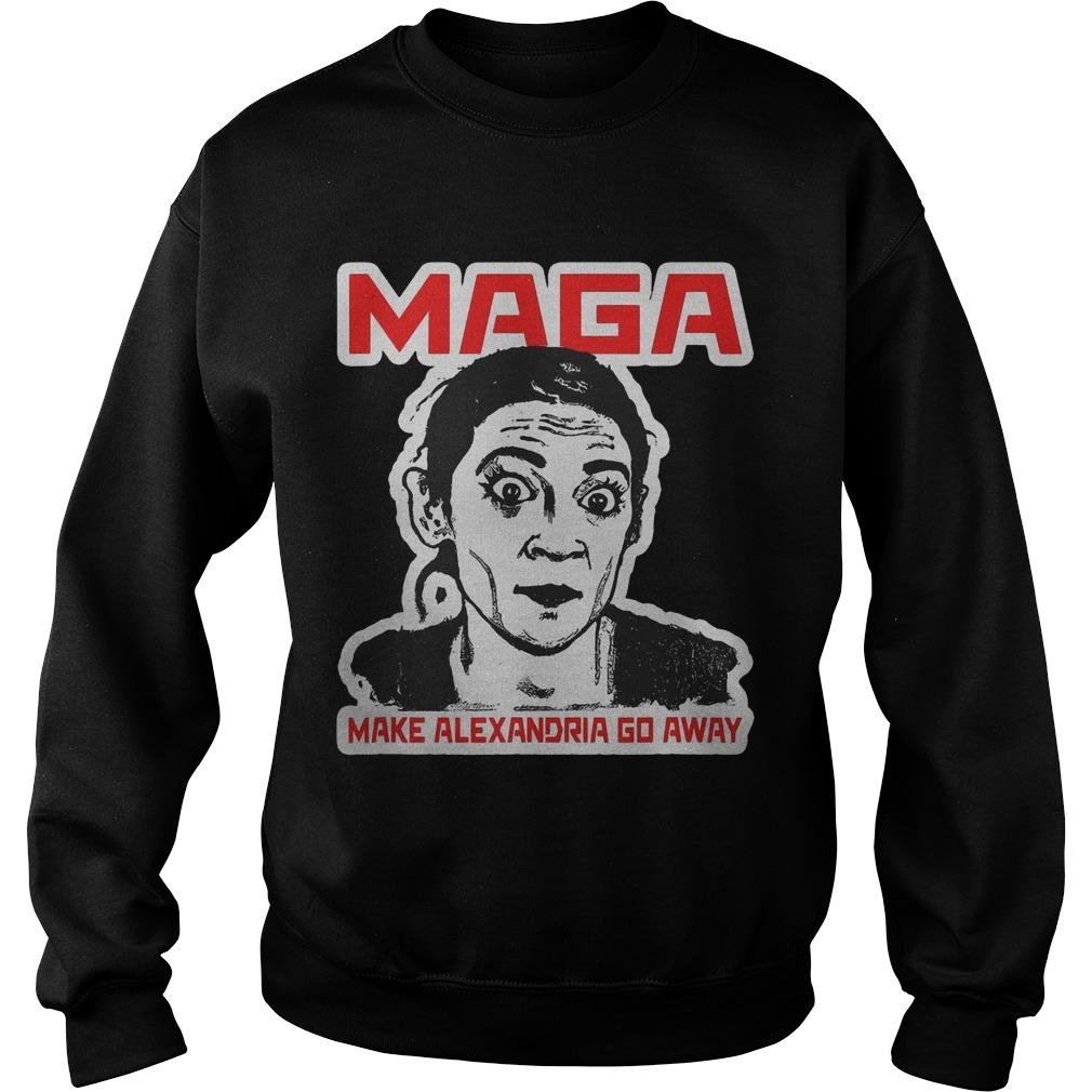 Maga Make Alexandria Go Away Sweater
