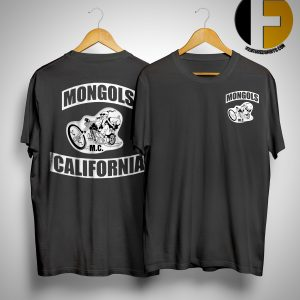 Mongols California M.c Shirt