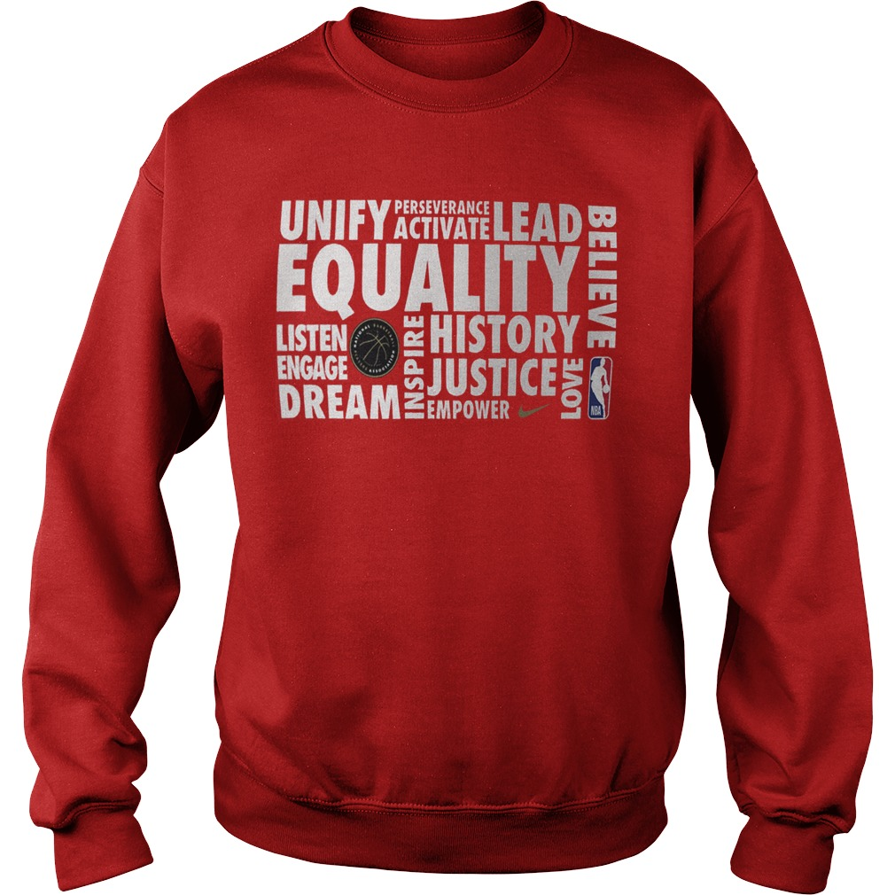 NBA Black History Month Sweatshirt 2019