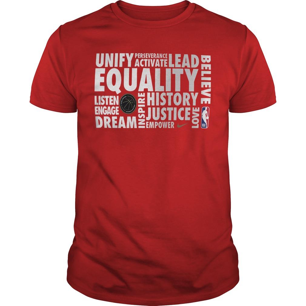 Nba Equality Shirt 2019