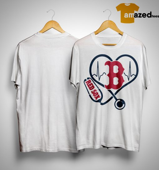 Nurse Loves Boston Red Sox Shirt