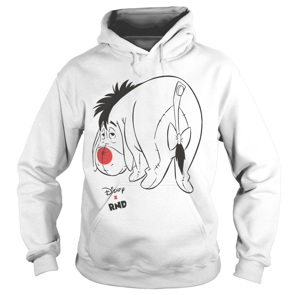 RED NOSE DAY Eeyore Hoodie