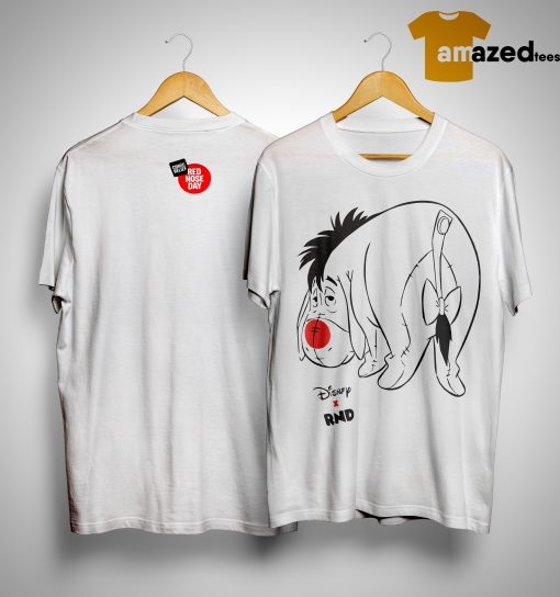 RED NOSE DAY Eeyore Shirt