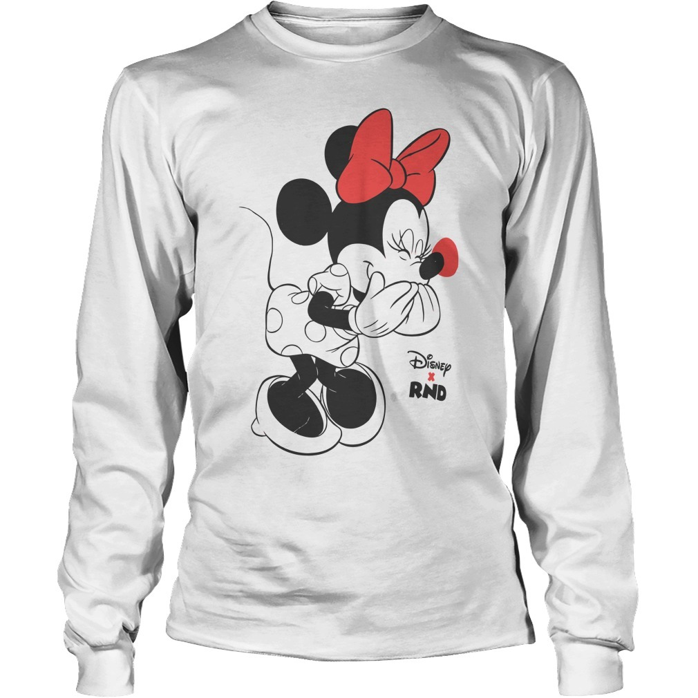RED NOSE DAY Minnie Mouse Longsleeve Tee