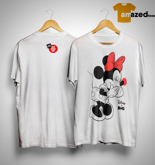 RED NOSE DAY Minnie Mouse Shirt
