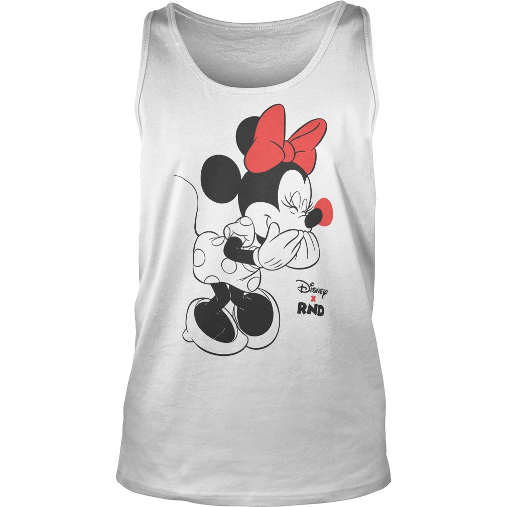 RED NOSE DAY Minnie Mouse Tank Top