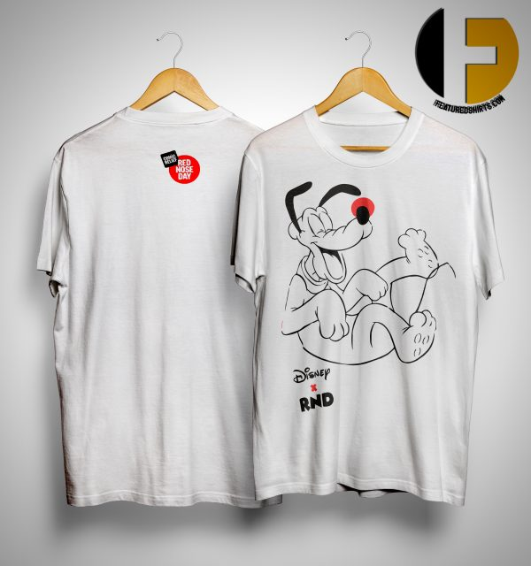 RED NOSE DAY Pluto Shirt
