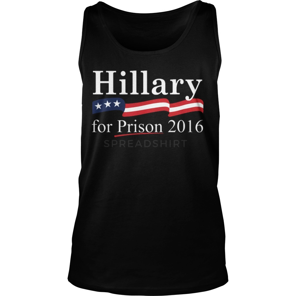 Roger Stone Hillary For Prison 2016 Tank Top