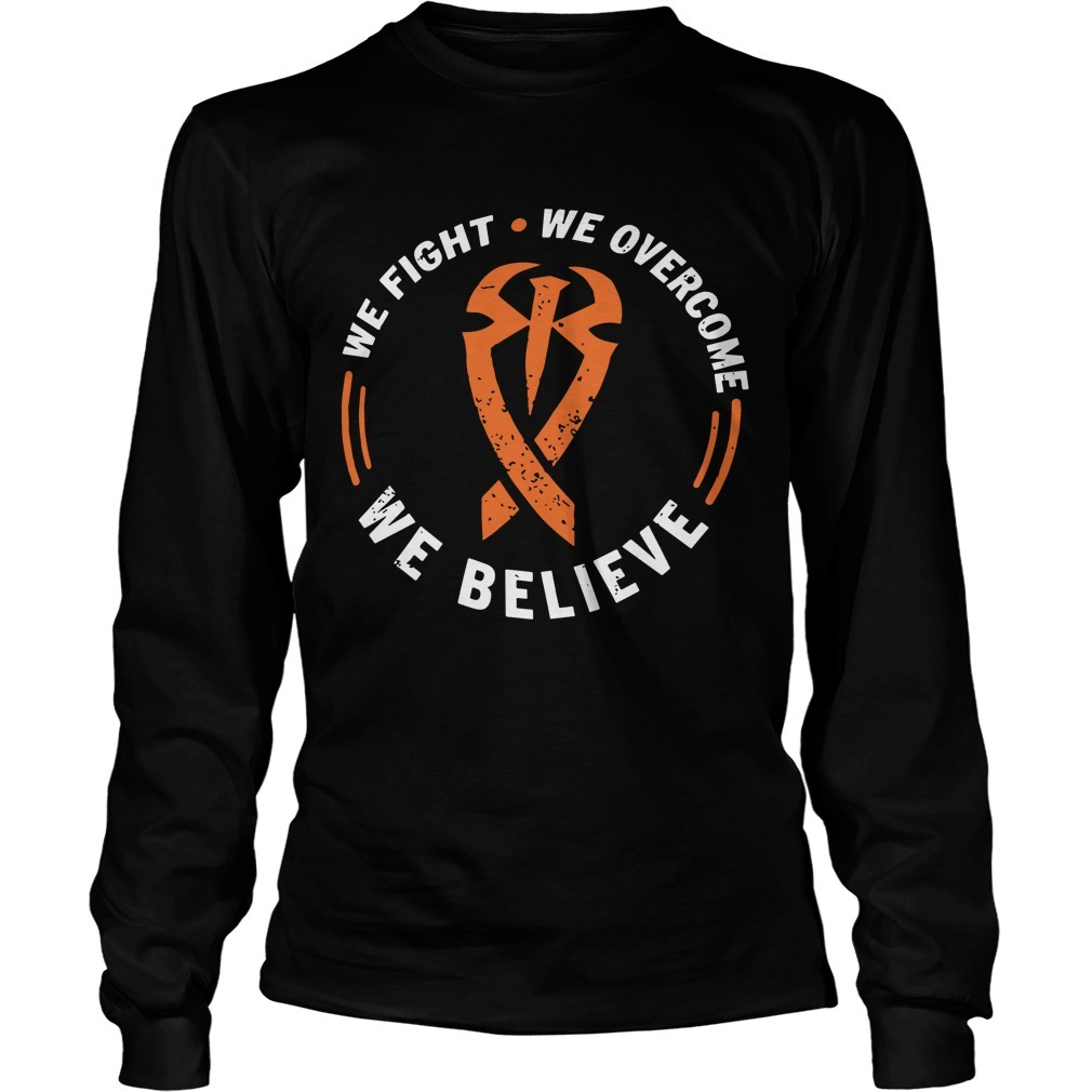 Roman Reigns We Believe Longsleeve Tee