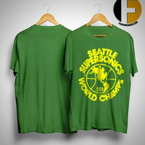 Seattle Supersonics World Champs Nba 1978 79 Shirt