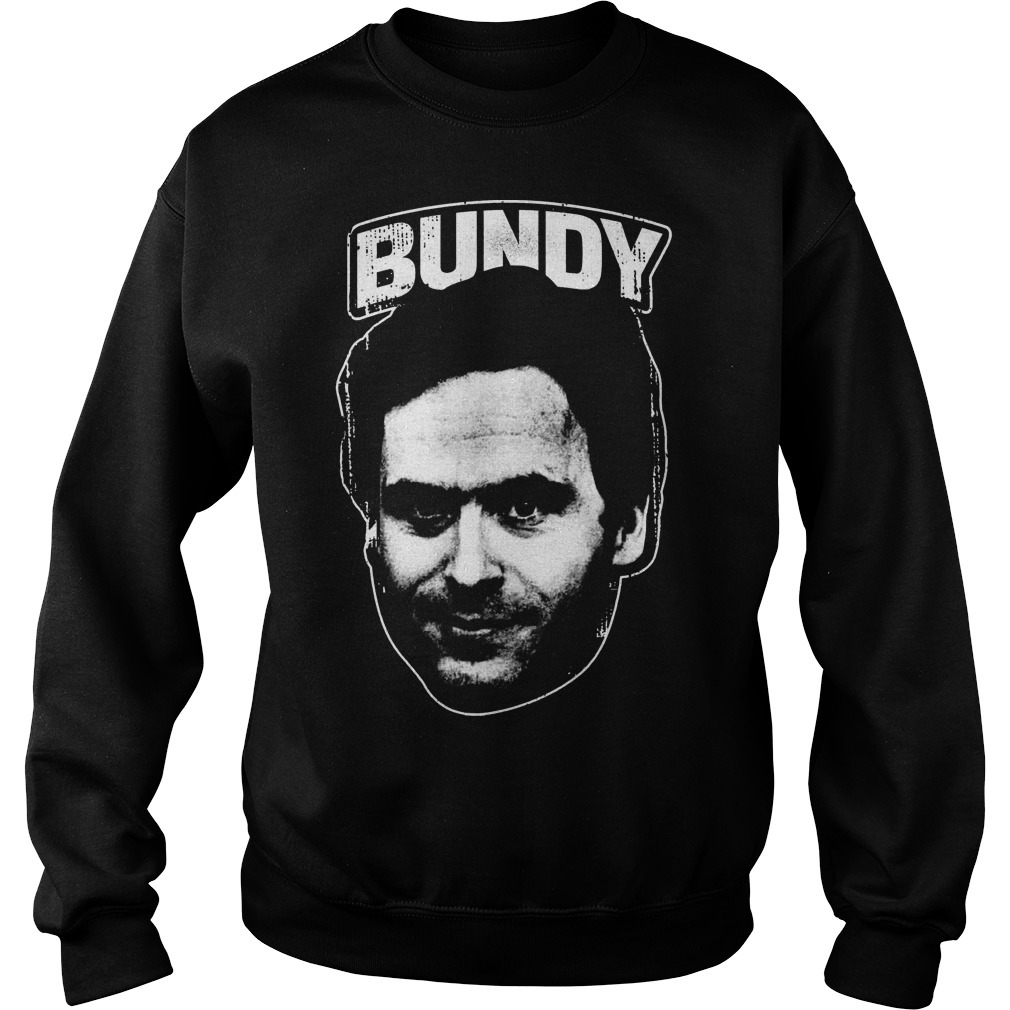 Serial Killer Ted Bundy Face Sweater