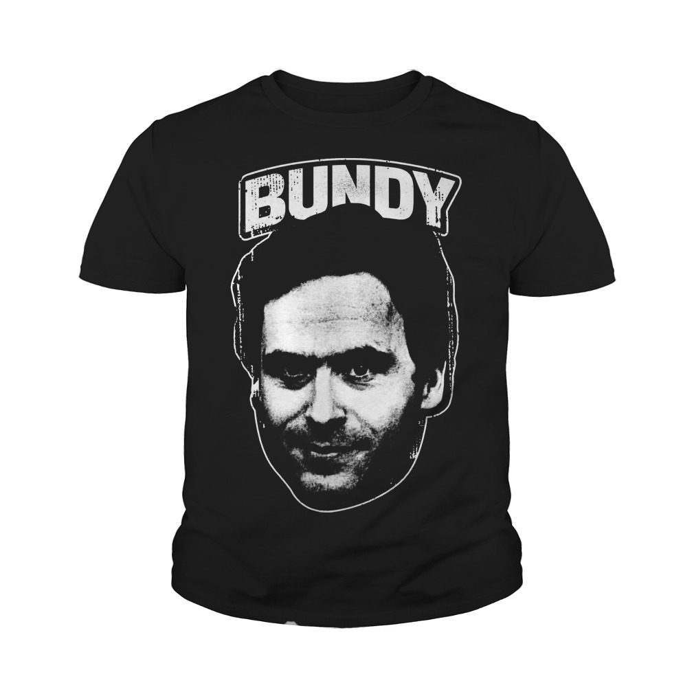 Serial Killer Ted Bundy Face Youth Tee