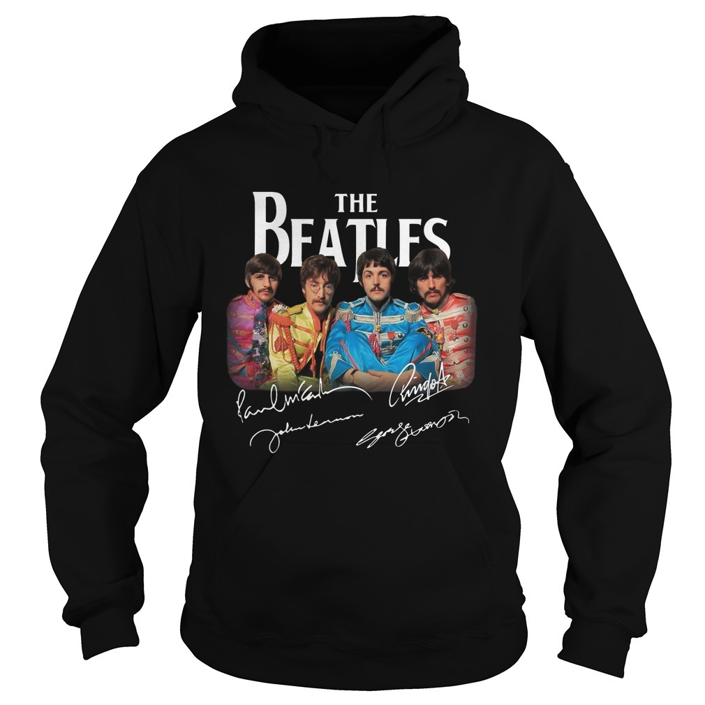 Sgt. Pepper's Lonely Hearts Club Band The Beatles Signature Hoodie