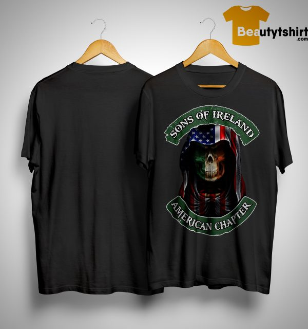 Skull Sons Of Ireland American Chapter Shirt