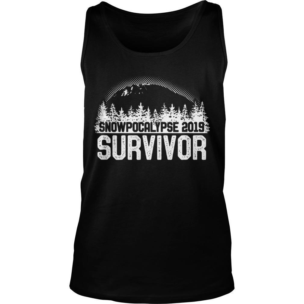 Snoqualmie Snowpocalypse 2019 Survivor Tank Top