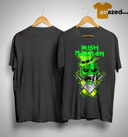 St Patrick's Day Irish Madman Jameson Kid Shirt