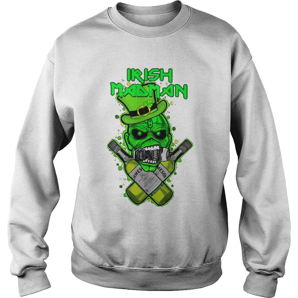 St Patrick's Day Irish Madman Jameson Kid Sweater