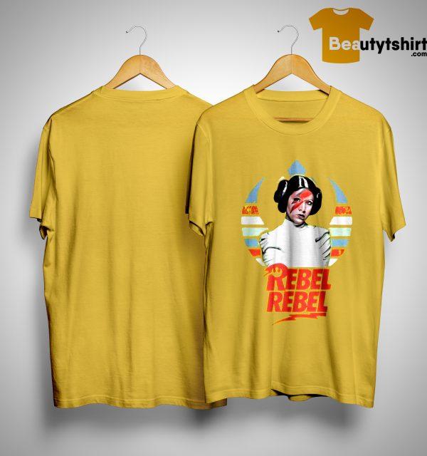 Star Wars Princess Leia Rebel Rebel Sunset Shirt