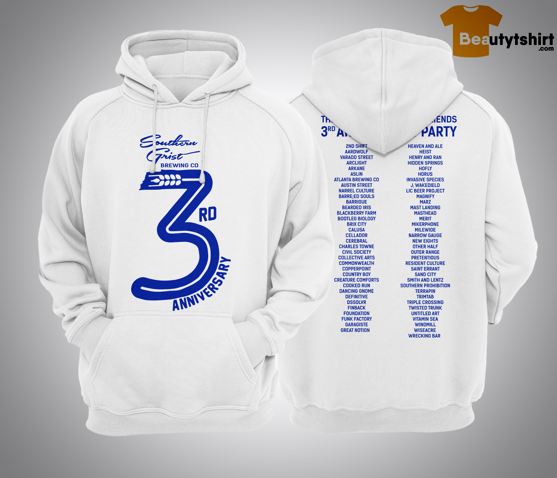 The Sounthern Grist And Friends 3rd Anniversary Party Hoodie