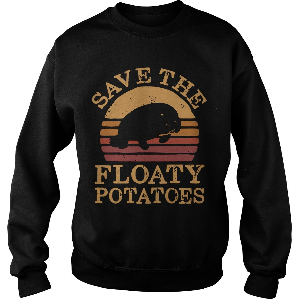 The Sunset Save The Floaty Potatoes Sweater