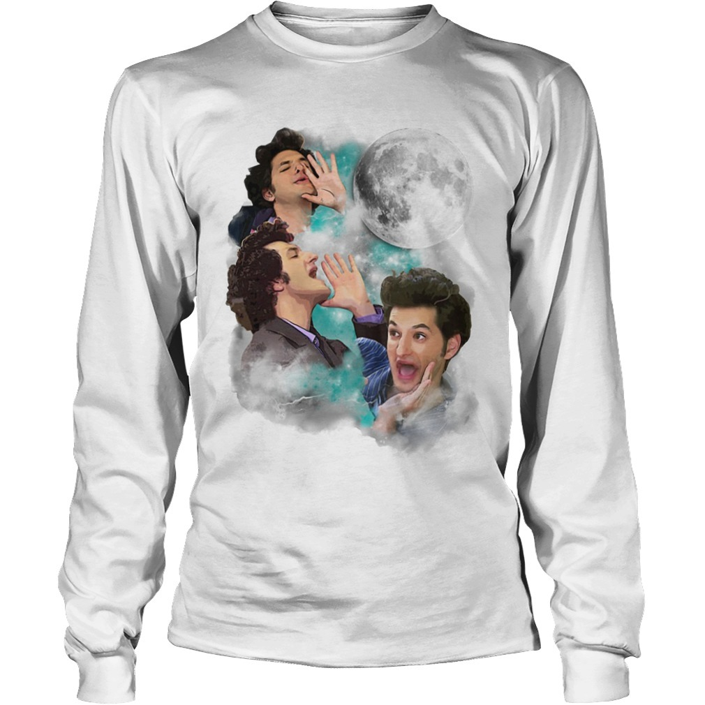 Three Jean Ralphio Moon Longsleeve Tee