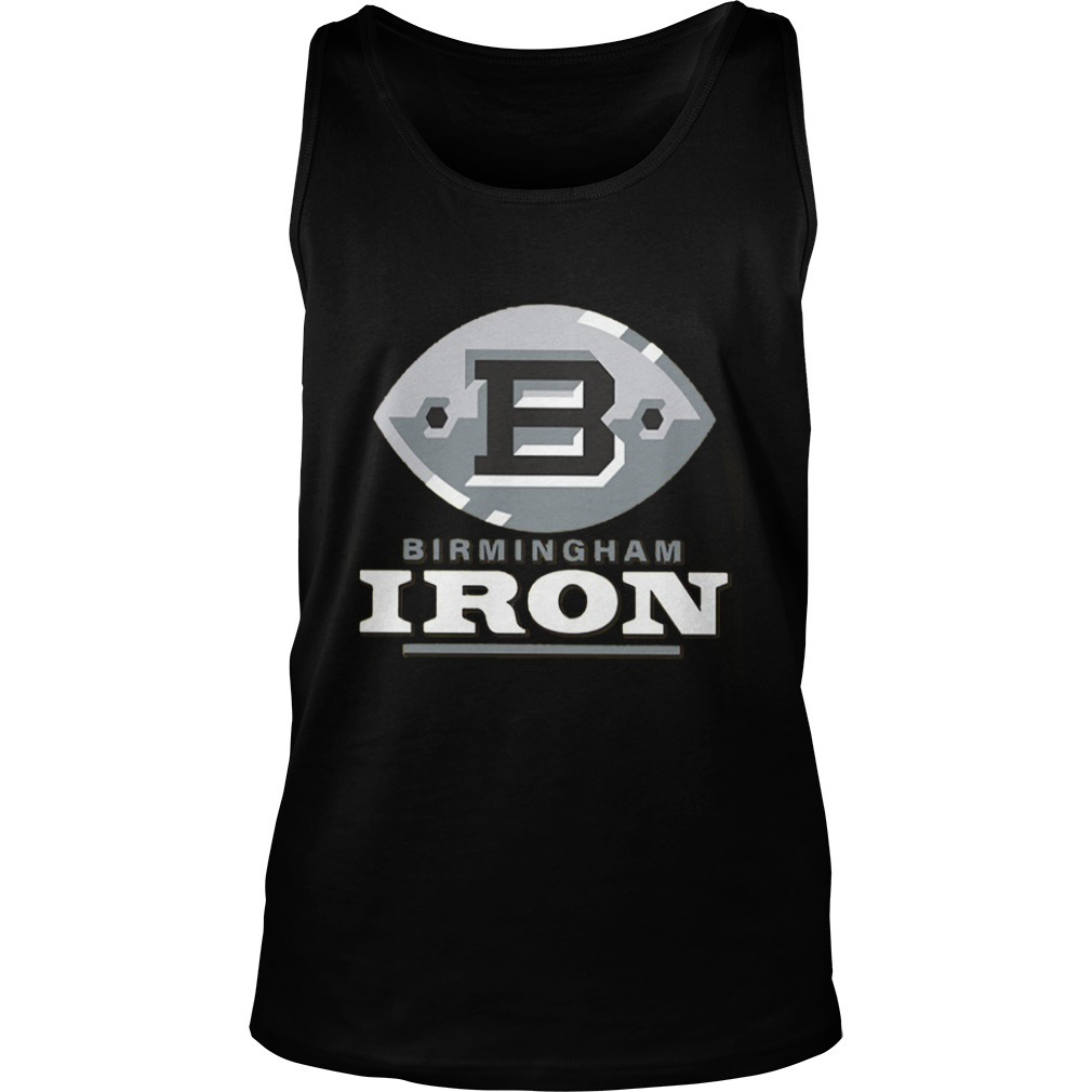 Tim Lewis Birmingham Iron Tank Top
