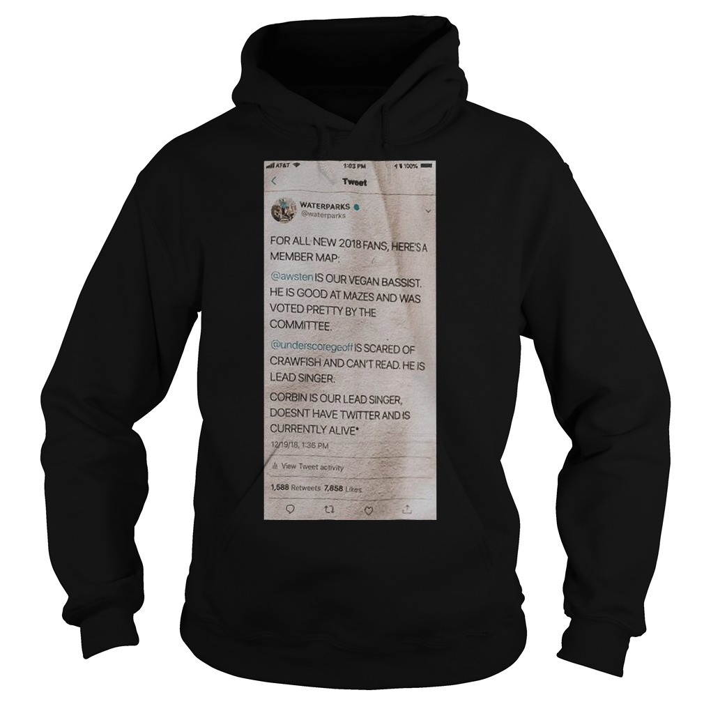 Waterparks Twitter Status A Tour Hoodie