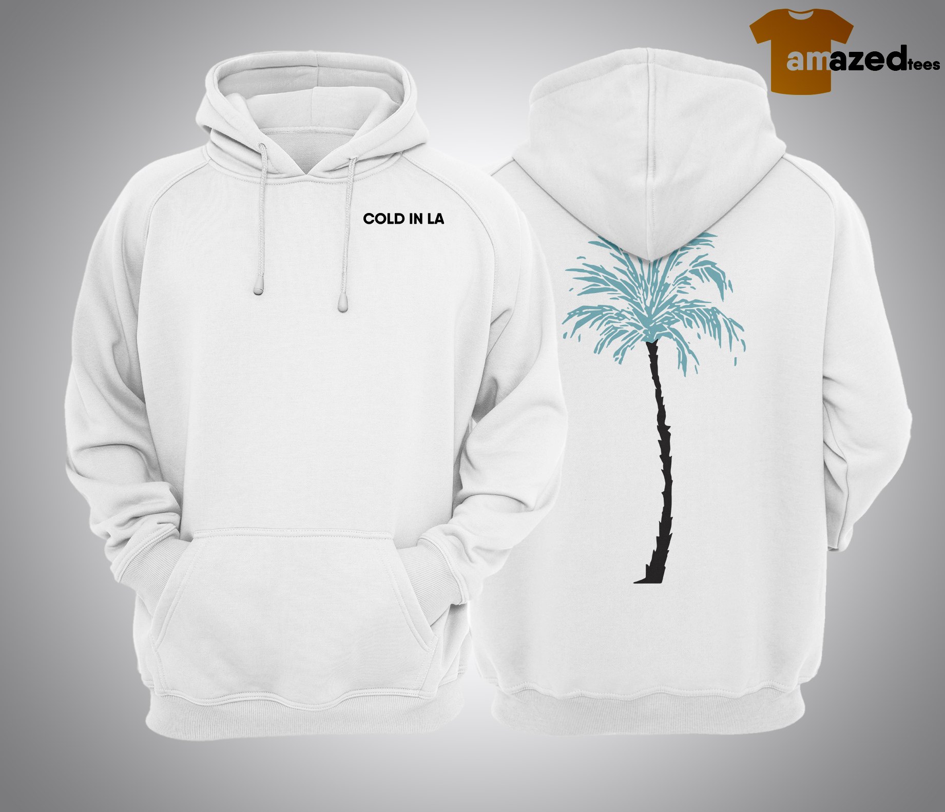 Why Don't We Palm Cold In La Hoodie