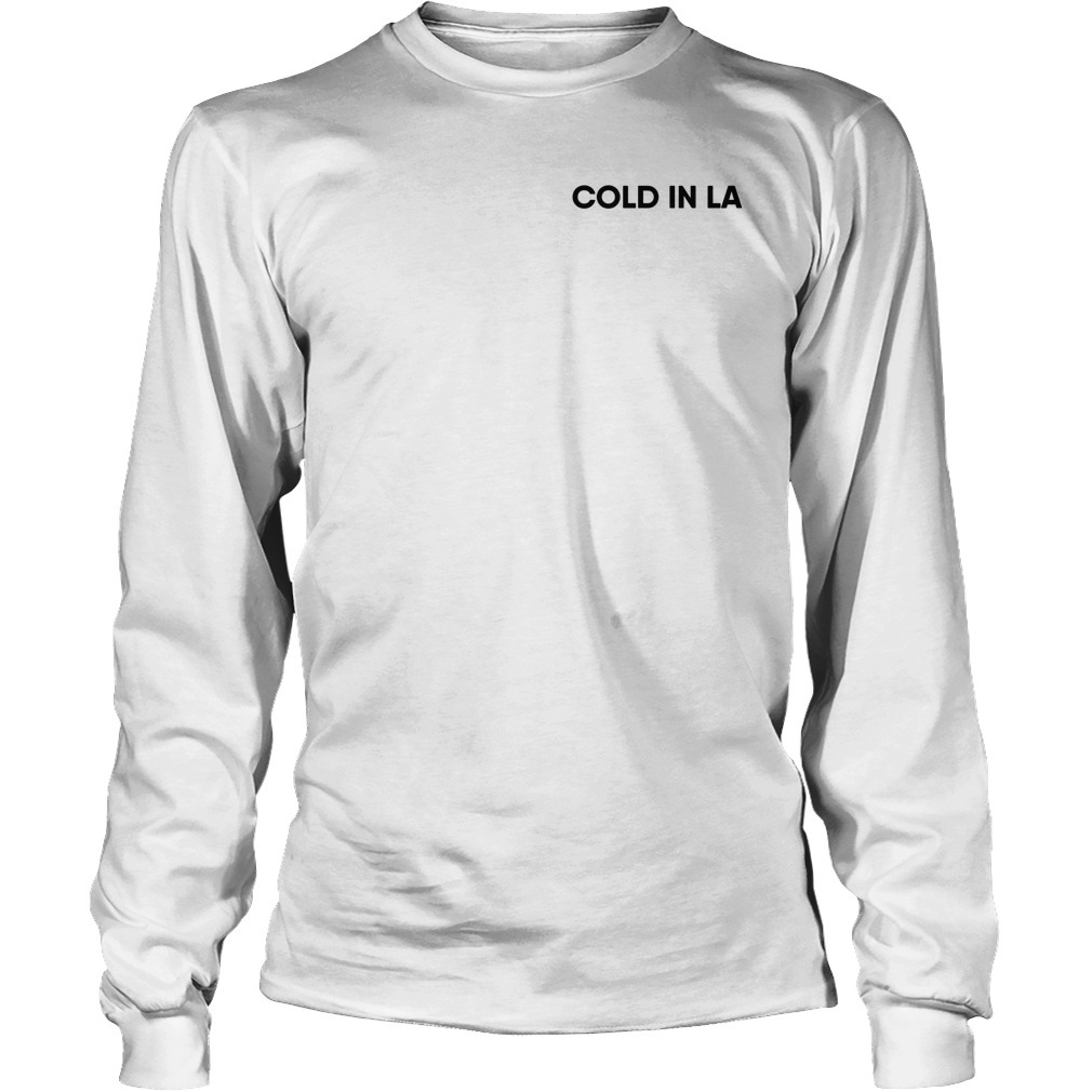 Why Don't We Palm Cold In La Longsleeve Tee