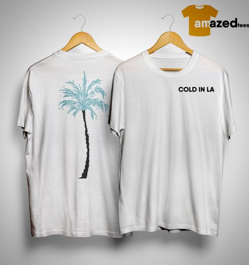Why Don't We Palm Cold In La Shirt