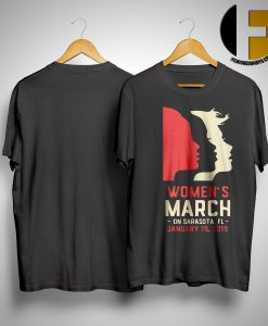 Womens March 2019 Sarasota Fl Shirt