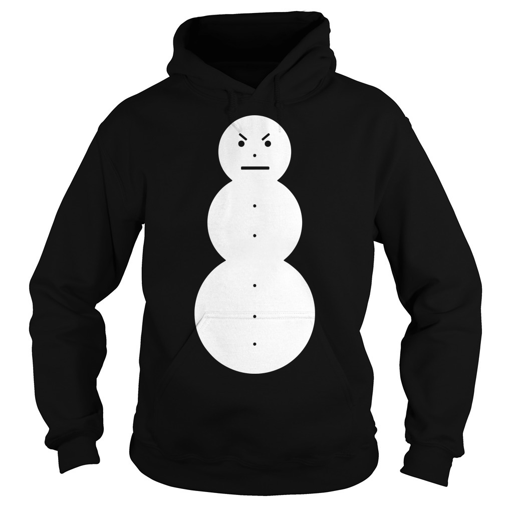 Young Jeezy Angry Snowman Hoodie