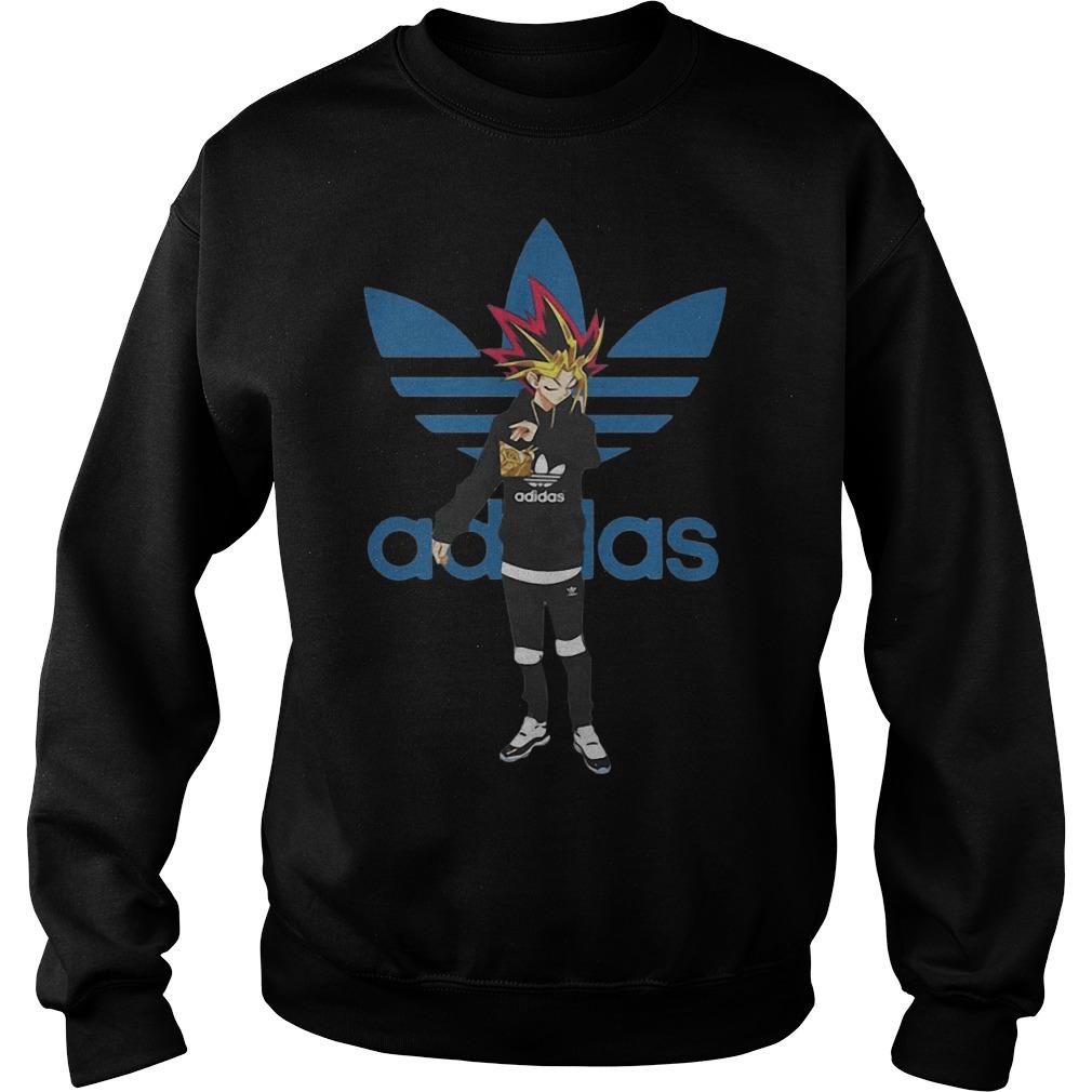 Yugioh Adidas Sweater